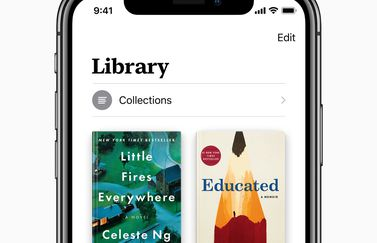 Apple Books in iOS 12