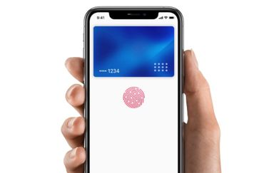 iPhone met Touch ID in zijknop.
