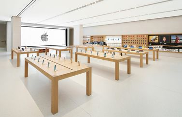 Wenen Apple Store: interieur