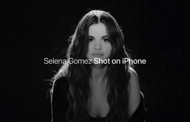 Selena Gomez Shot on iPhone