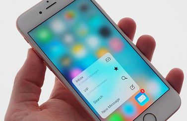 iPhone 6s met touch ID