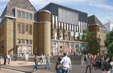 Post Utrecht artist impression