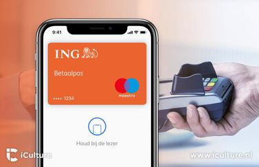 ING met Apple Pay.