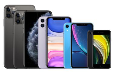 Apple iPhone 2020 lineup