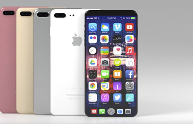 Concept iPhone 8 filosofeert over functiepaneel