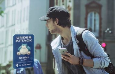 Pokemon Go voor iOS en Android.