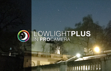 LowLight Plus van ProCamera