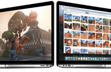 El Capitan MacBooks met games en foto's