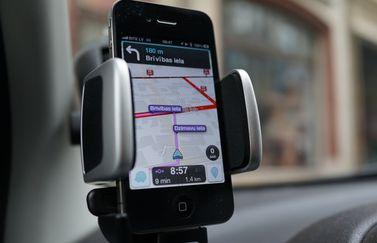 Waze iPhone iPad navigatie-app