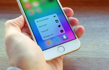 Launch Center Pro met 3D Touch acties
