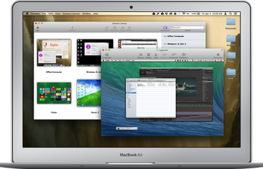 screens voor de Mac