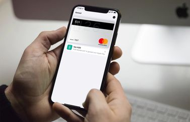 N26 Mastercard met Apple Pay.
