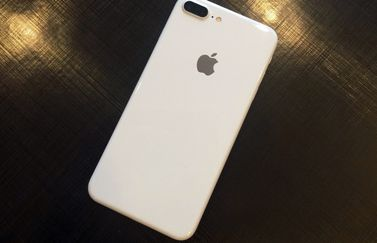 Jet White iPhone-case