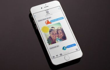 iMessage-app van Disney