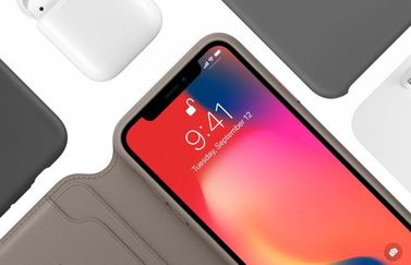 Leren Folio iPhone X