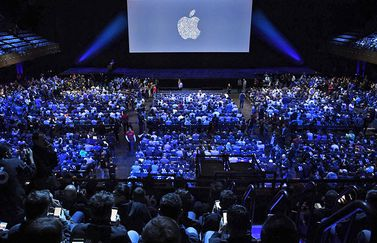 Apple WWDC-publiek