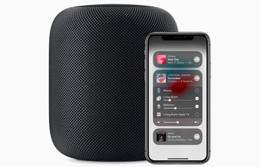 HomePod met Apple Music