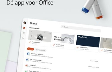 Microsoft Office-app voor tablets en iPad.