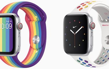 Apple Watch Pride Edition 2020.