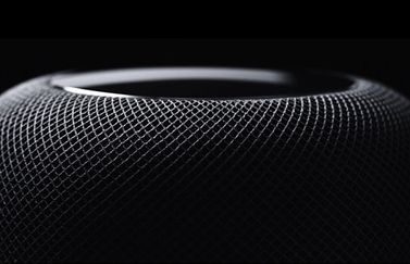 HomePod zwart close-up