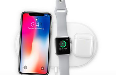 iPhone X, Apple Watch en AirPods met AirPower.