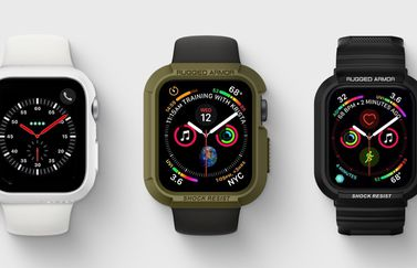 Spigen Tough Armor Apple Watch sportversie rugged.