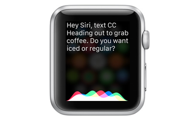 Apple Watch siri featured