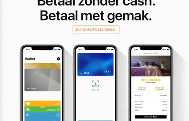 Apple Pay-pagina Nederlands.