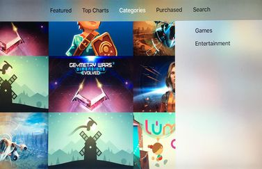 Apple TV categorie