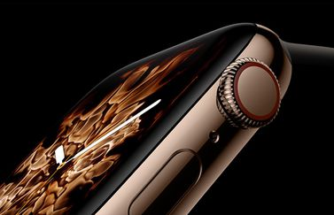 Apple Watch Series 4 Liquid Metal wijzerplaat