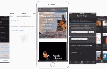 Throttle mailapp voor iPhone