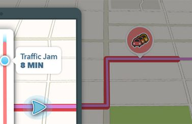 Waze Traffic Bar