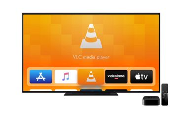 VLC op Apple TV.