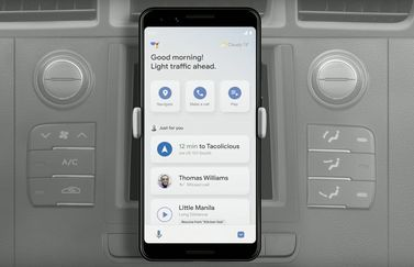 Google Assistent Driving Mode