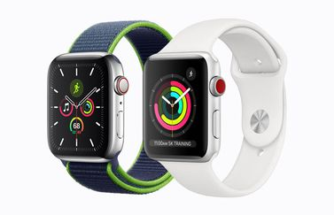 Twee Apple Watch modellen in 2020
