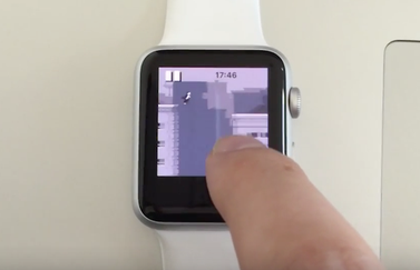Apple Watch Canabalt