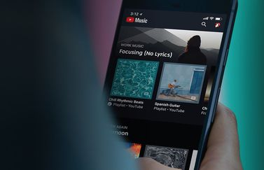 YouTube Music iPhone-app