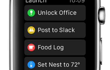 Launch Center Pro Apple Watch