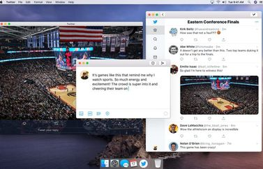 Twitter for Mac met Catalyst