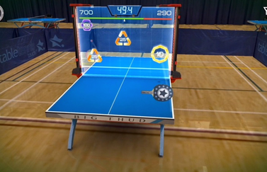 Table Tennis Touch Glass Table-minigame.