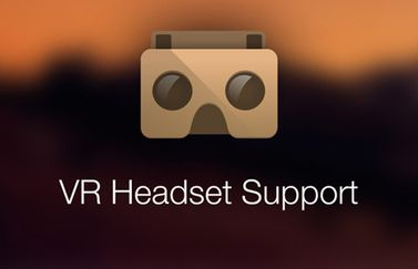 RoundMe VR Headset support