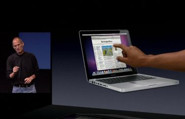 Mac met touchscreen