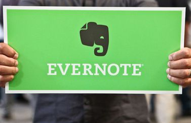Evernote-bord
