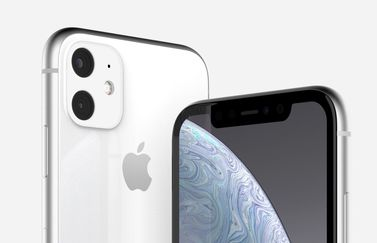 iPhone XR 2019 in wit.