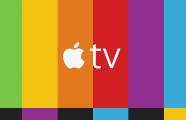 Apple TV streepjespatroon