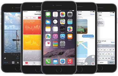 iphone 6 ios 8 plaatjes