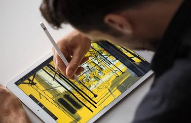 Apple Pencil lifestyle afbeelding