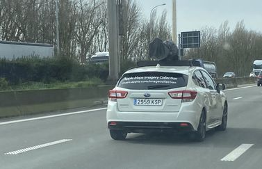 Apple Maps auto in België