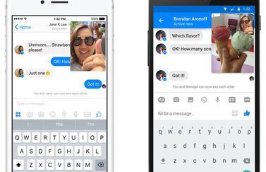 Facebook Messenger met Instant Video
