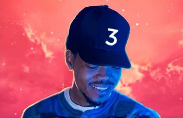 Chance the Rapper coloring book